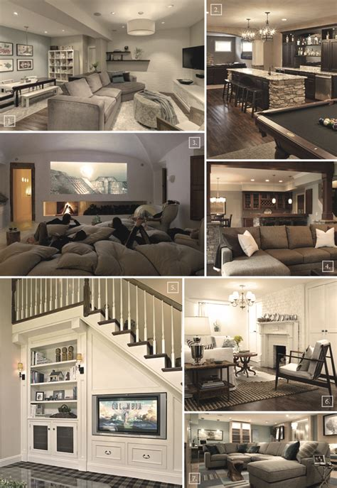 Turning a basement into a family room designs amp ideas home tree