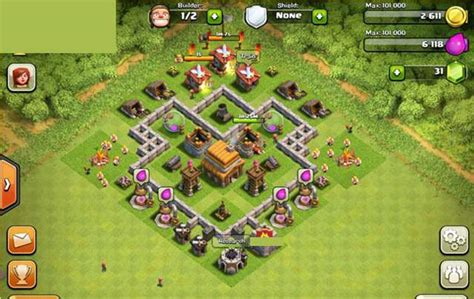best layout in coc th 4 clash of clans builder best town hall 4 layouts heavy com