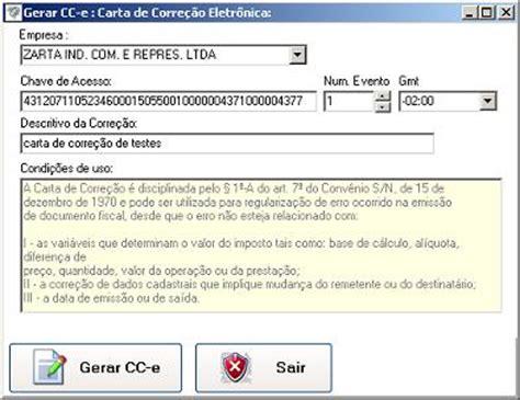 gerando cc e carta de corre 231 227 o eletr 244 nica