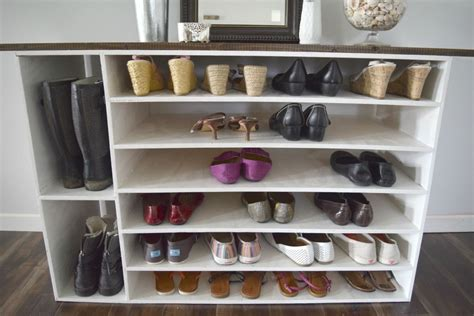 shoe shelves diy stylish diy shoe rack for any room