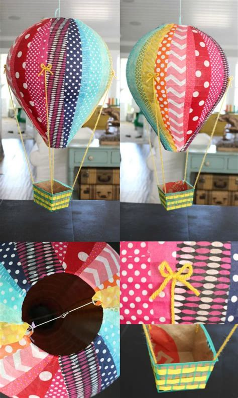 How To Make A Paper Balloon Fly - 25 best ideas about paper mache balloon on