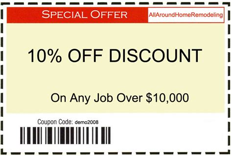 discount coupons on kitchen bathroom remodel room