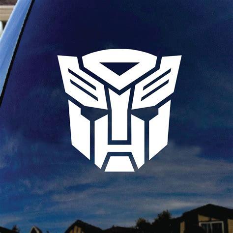 Autobot Decals by Autobot Robot Car Window Vinyl Decal Sticker