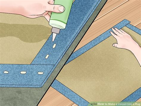 carpet into rug how to make a carpet into a rug 14 steps with pictures