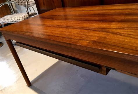 Danish Mid Century Modern Coffee Table With Drawers For Coffee Table Materials