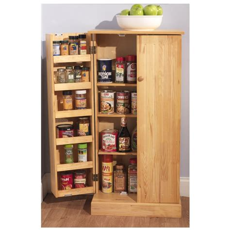 Kitchen Storage Cabinet Pantry Utility Home Wooden Kitchen Pantry Storage Cabinets
