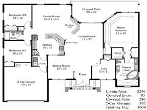 4 Bedroom Farmhouse Plans by 4 Bedroom House Plans Open Floor Plan 4 Bedroom Open House