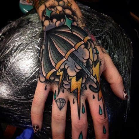 umbrella tattoo on hand hand storm tattoo best tattoo ideas designs