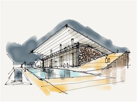 sketchbook architecture architectural sketch by joaquimmeira on deviantart
