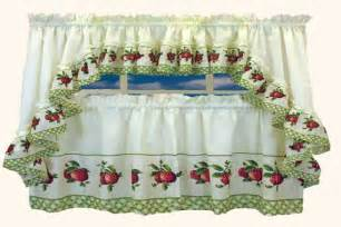 red apple kitchen curtains burning up you cooking spirit with red kitchen curtains