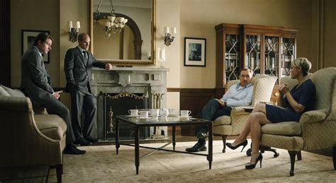 get the look frank and underwood s d c townhouse