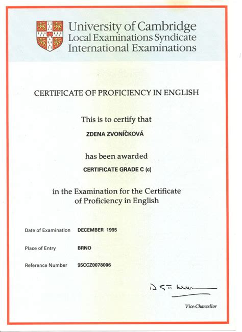certification letter of proficiency cpe certificate template language proficiency certificate