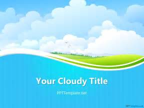 free template powerpoint free sky ppt template