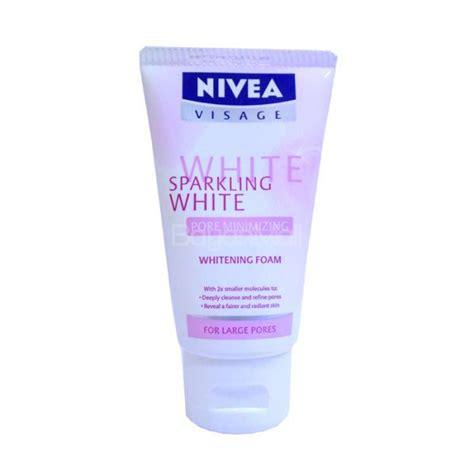 nivea visage whitening foam 50g