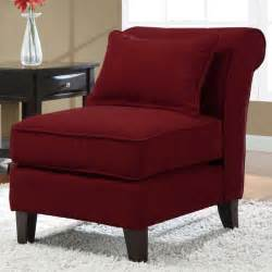 Brown Slipper Chair Slipper Red Fabric Armless Chair 14496240 Overstock
