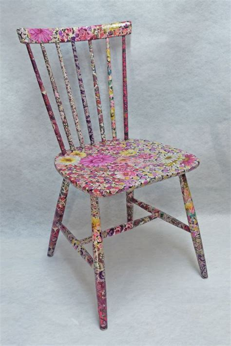 decoupage a chair 25 best ideas about decoupage chair on
