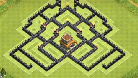 ays gaming clash of clans more clash of clans new th8 trophy pushing war base design
