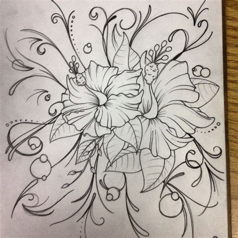 girly flower tattoo designs girly design sketch girly