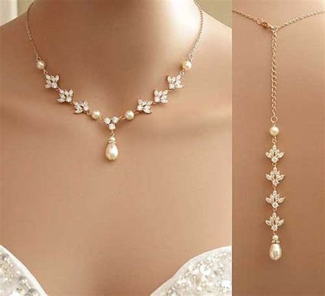 7 Best Necklaces For Your Wedding by Inci Kolye Modelleri Inci Kolye Baby
