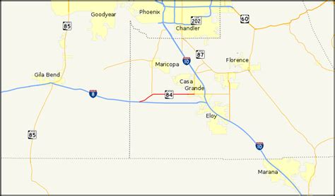 file arizona state route 84 map svg wikimedia commons