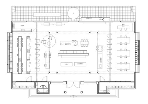 floor plan planning bulthaup showroom tlv pitsou kedem architects archdaily