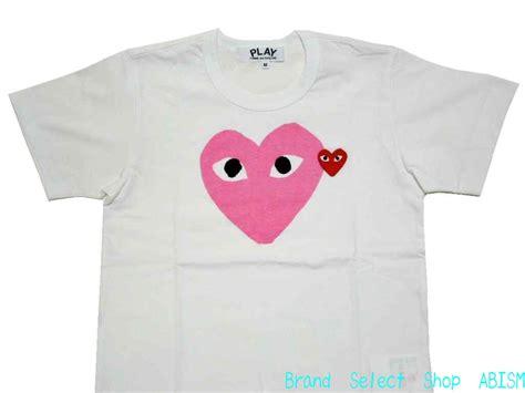 Tshirt Player Desain brand select shop abism rakuten global market womens size play comme des garcons comme