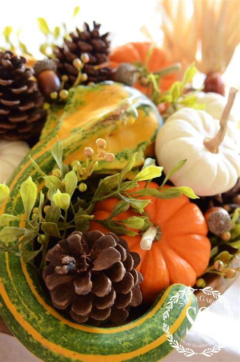 decorating  natural elements  fall stonegable