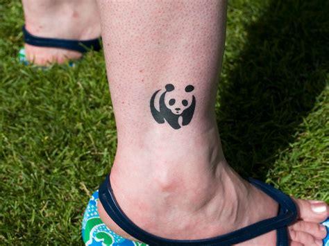 panda ankle tattoo panda ankle tattoo design tattooshunt com
