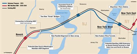 map of new york city tunnels new momentum for a trans hudson rail tunnel amtrak
