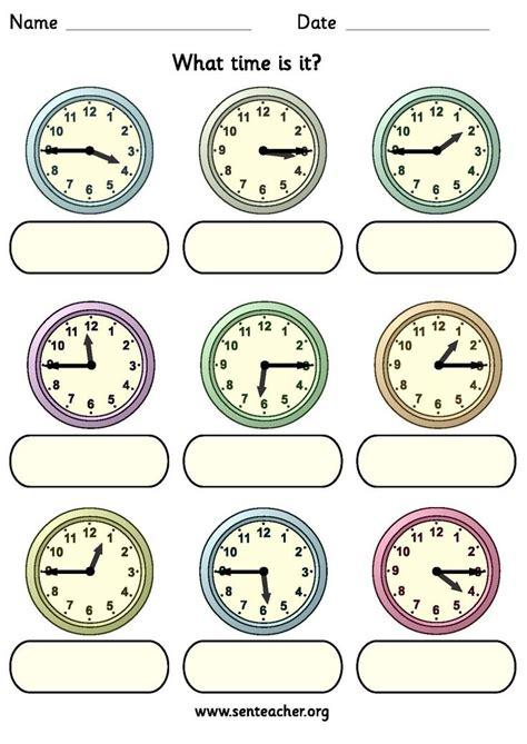 free printable quarter past worksheets worksheet containing 9 analogue clocks showing quarter to