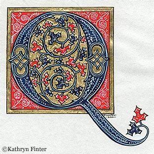 r馮lette cuisine kathryn finter contemporary manuscript illumination
