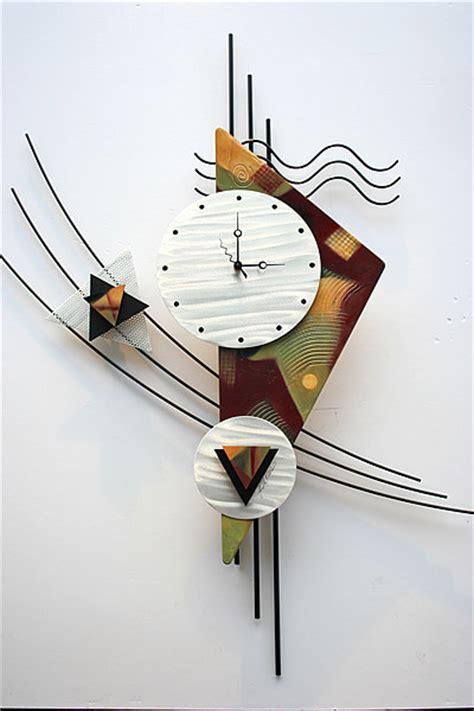 art wall clock metal wall clock sculpture contemporary wall clocks