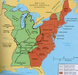 united states 13 colonies map the 13 colonies