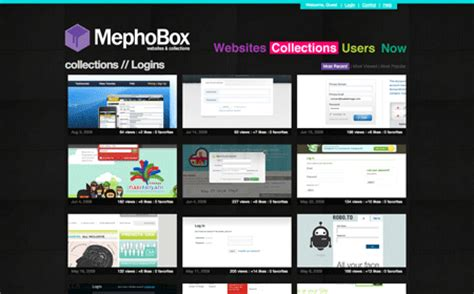 ui designwalker mephobox web design and web inspiratio webデザイン