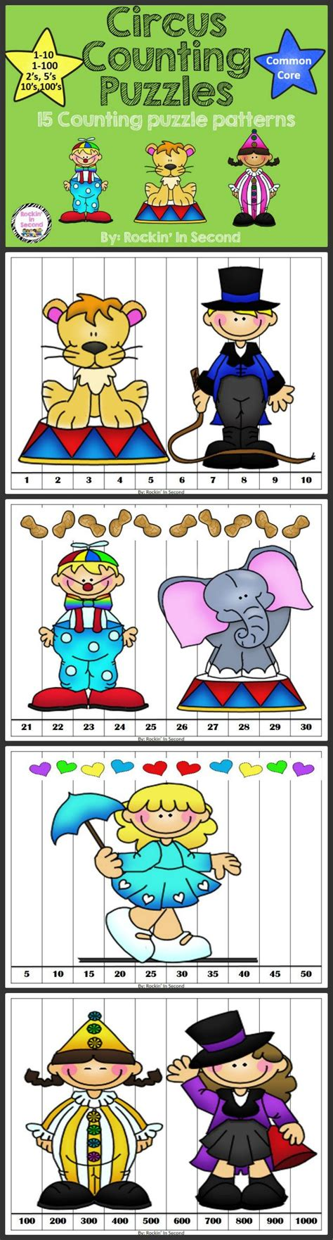 Thematic Magnet Puzzle Circus 17 best images about circus on circus clown circus preschool themes and activities