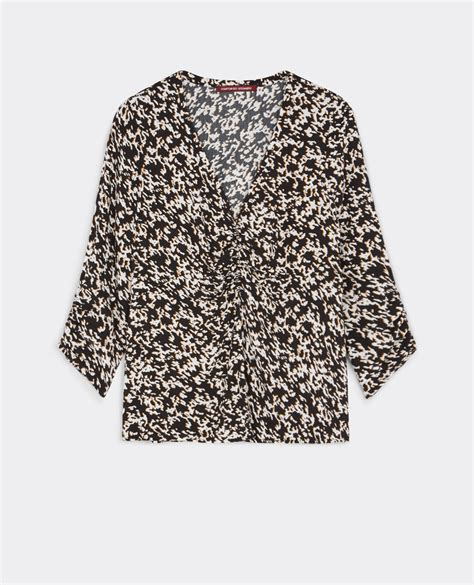 Blouse Sw Blouse Wanita Wolly Crepe Trendy s blouses trendy womenswear comptoir des cotonniers