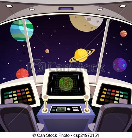 A Frame Cabin Plans Free clipart vector of spaceship cartoon interior flying