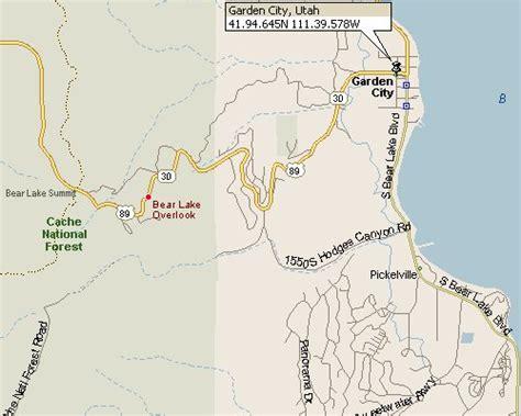 Garden City Utah Garden City Utah Map 1