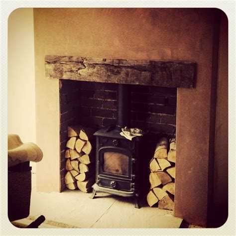 Wooden Lintel Fireplace by 1000 Ideas About Wood Burner Fireplace On Log Burner Fireplace Log Burner And Wood