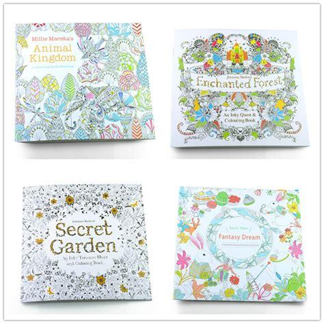 secret garden coloring book sold out 3set lot 24pages 19 19cm secret garden