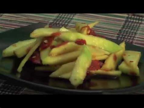 cara membuat manisan mangga yang lezat cara membuat sambal mangga lezat youtube
