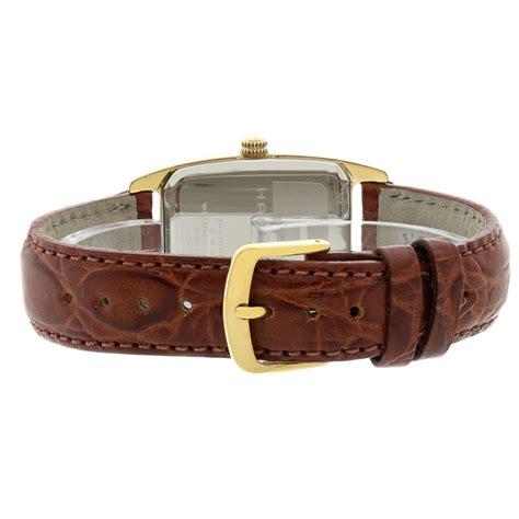 Swiss Army Sar4062 Paket Leather Light Brown hamilton boulton mens gold tone brown leather swiss quartz h13431553 ebay