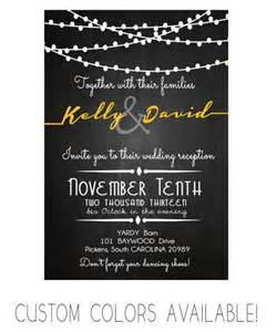 wedding reception invitation card chalkboard modern stringlight invitation printable diy 002