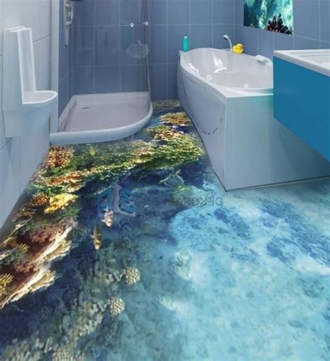 Cool Bathroom Floor Ideas Best 25 3d Floor Ideas On 3d Flooring Floor Cool Bathroom Floor Ideas 547 X 600
