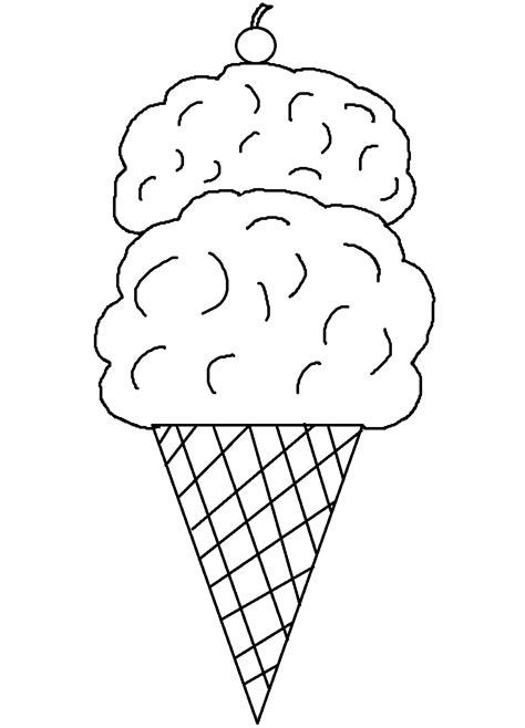 free coloring page ice cream cone printable ice cream cone coloring pages art teacher