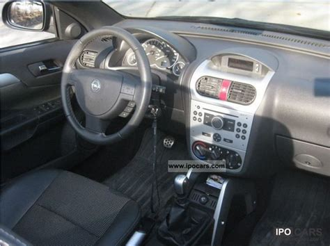 Opel Tigra Interior by 2007 Opel Tigra Top 1 8 Edition Car Photo And Specs