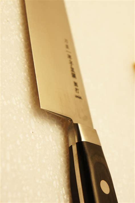 thick blade knife ikkanshi tadatsuna gyuto thick blade 270mm inox chef knife