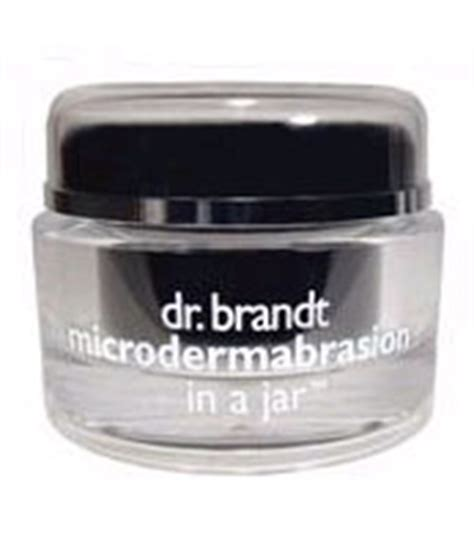 Microdermabrasion In A Jar by Microdermabrasion In A Jar Dr Brandt Gommage Visage