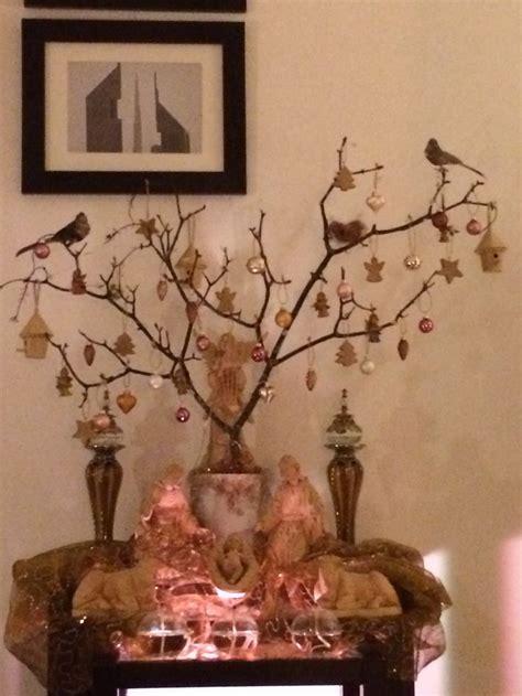 como decorar chamizos o arboles secos para navidad chamizo de navidad mps elementos decorativos