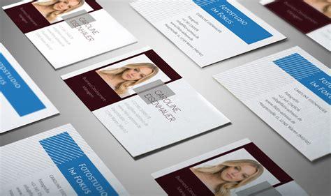Visitenkarten Nach Vorlage by Design Vorlagen F 252 R Visitenkarten